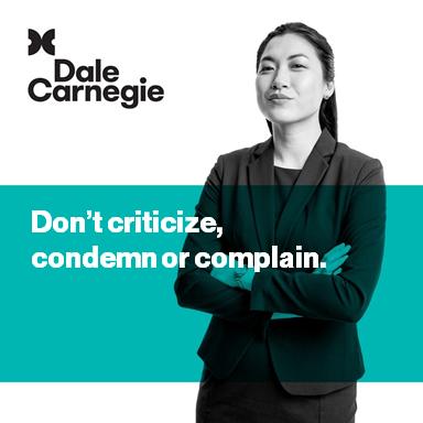 Dale Carnegie Course