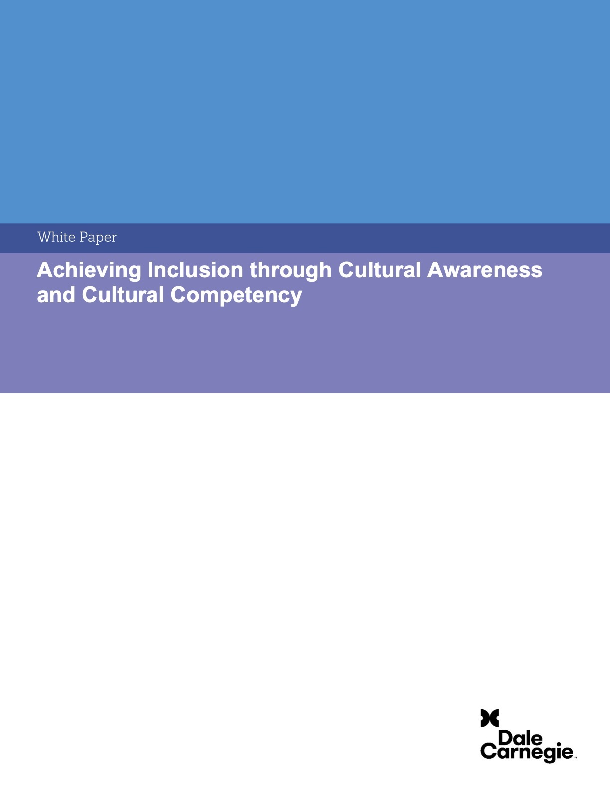 cultural awareness and cultural competency